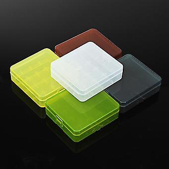 Soshine Five Colorful 18650 Battery Storage 4 Slot Protective Case Box