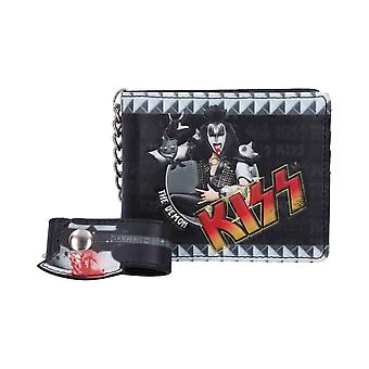 KISS The Demon Premium Wallet with Chain