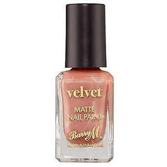 Barry M Velvet Nail Paint - Peluche Blush