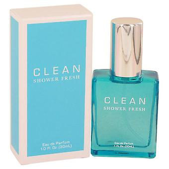 Clean Shower Fresh Eau De Parfum Spray By Clean 1 oz Eau De Parfum Spray