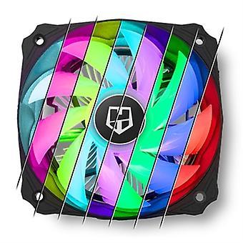 Ventilator NOX NXHUMMERH123RGB �� 12 cm LED RGB