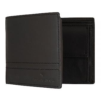 Monedero cartera monedero negro TOM TAILOR hombres 1257