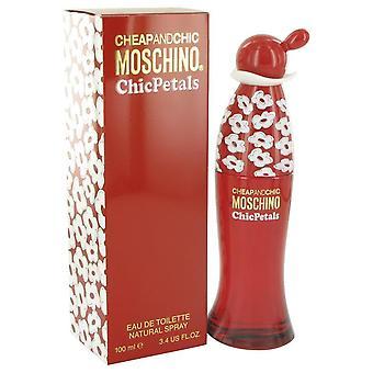 Cheap & Chic Petals Eau De Toilette Spray By Moschino 3.4 oz Eau De Toilette Spray
