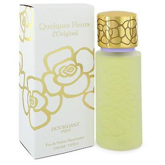 Quelques Fleurs Eau De Parfum Spray By Houbigant 3.4 oz Eau De Parfum Spray