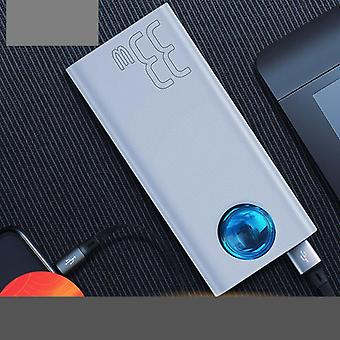 65w Tablet Power Bank 30000mah Usb C Pd Quick Charge Portable External Battery