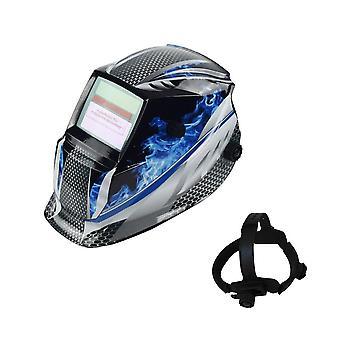 Sikkerhed Anti-UV Svejsemaske, Automatiske øjne Beskyttelsesbriller, solbriller, Linse,