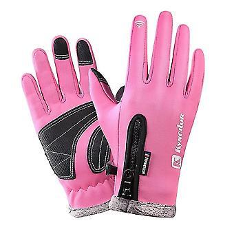 Unisex winter fleece thermal glove