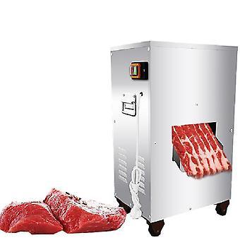 2200w 300 kg / t KødSkæring Machine Commercial Lodret Kød Slicer