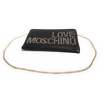 Женская сумка Любовь Moschino Сумка-клатч с плечевым ремнем Ecopelle Черный Bs21mo71 Jc4227