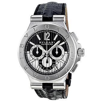 Bvlgari Diagono Calibro 303 Cronografo Orologio automatico uomo DG42BSLDCH