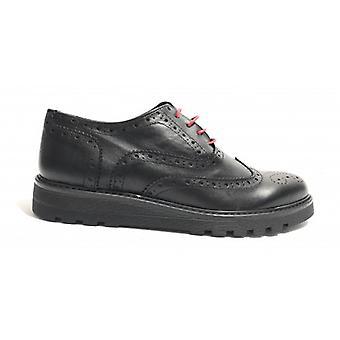 Shoes Man Tony Wild Francesina Brogue Leather Color Black U18tw17