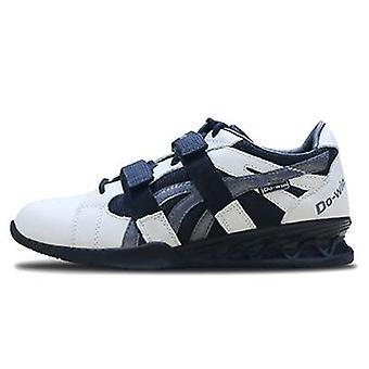 Chaussures professionnelles d'haltérophilie en cuir authentiques pour homme/femme