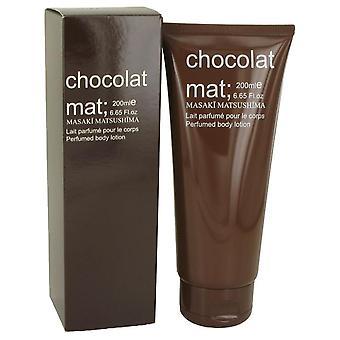 Chocolat mat body lotion by masaki matsushima 535130 197 ml