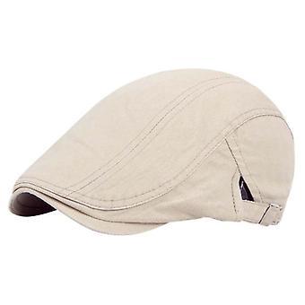 Men Vintage Baker Peaked Hat