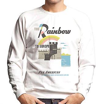 Pan Am The Rainbow To Europe Men's Sweatshirt