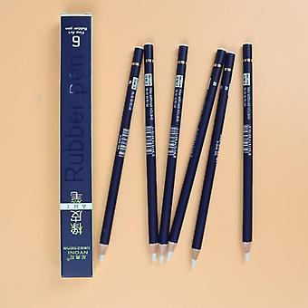 Rubber Pen Eraser Pencil, Rubber-type Pencil Eraser For Manga