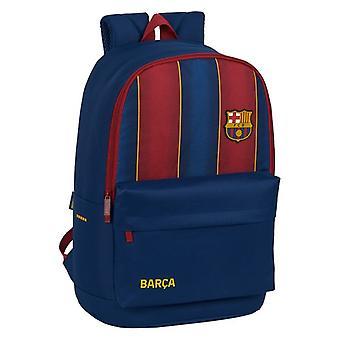 Skoletaske F.C. Barcelona Maroon Navy Blue