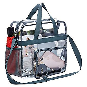 Transparent See Through Clear Tote Bag For Work