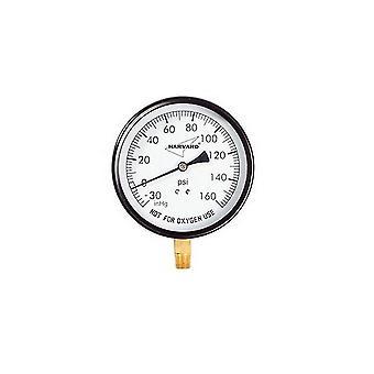 American Granby IPCG31045-4L 0.25 in. Pressure Gauge Mpt Lower