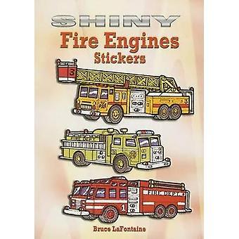 ブルース・ラフォンテーヌによる光沢のある消防車ステッカー