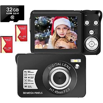 FengChun LongOu Digitalkamera 2,7 Zoll 1080P 30 Megapixel HD Fotoapparat Digitalkamera
