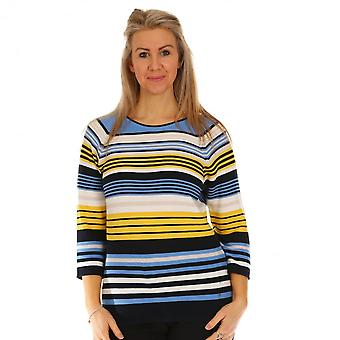 RABE Rabe Blue And Yellow Top 46-021650