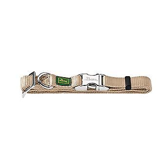 HUNTER Collar Vario-Basic Alu-Strong Gr. L/2545-65 cm, Nylon Beige