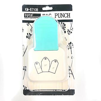 Punch Tag, Top Straight Paper Punches For Scrapbooking Tools, Craft Diy,