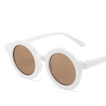 Kids Fashion Colorful Retro Round Sunglasses