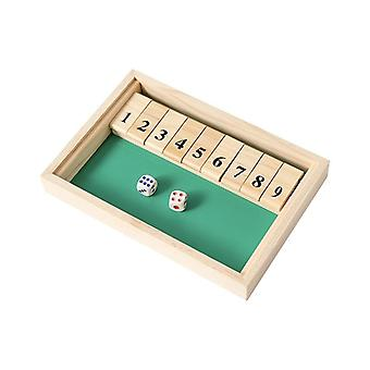 Shut The Box Dice Board Game Board Game In French Creative 4 Sided 10 Number