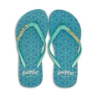 BeachyFeet Womens/Ladies Larimar Flip Flops