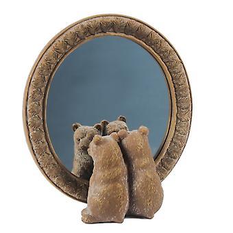 Alkuperäiset Bear Design Mantel Mirror