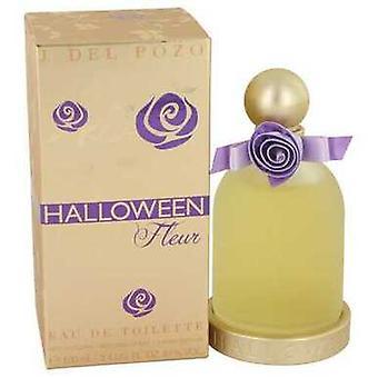 Halloween Fleur Av Jesus Del Pozo Eau De Toilette Spray 3.4 Oz (kvinnor)