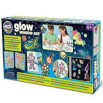 Brainstorm Glow Window Art