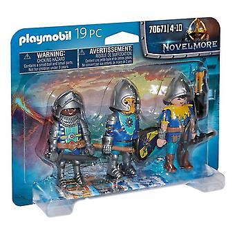 Set of Figures Novelmore Knights Playmobil 70671 (19 pcs)