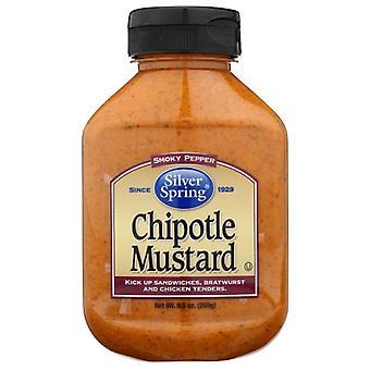 Silver Springs Mustard Chipotle, Doos van 9 X 9.5 Oz