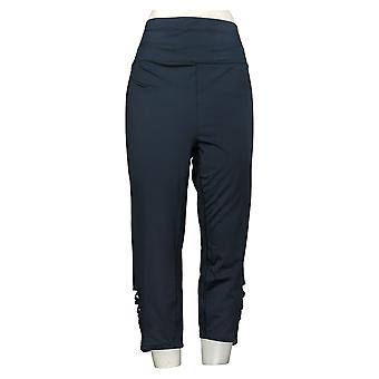 Tracy Anderson for G.I.L.I. Women's Plus Pants Leggings Blue A355137