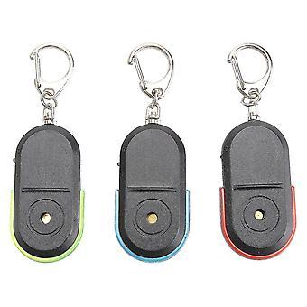 3 adet Kablosuz Anahtar Bulucu Whistle Led Anahtar Konum Belirleyici İzleme Cihazı Öğe Bulucu