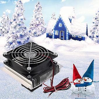 Lämpösähköinen peltierjäähdytys jäähdytys jäähdytys tuuletinjärjestelmä Heatsink Kit