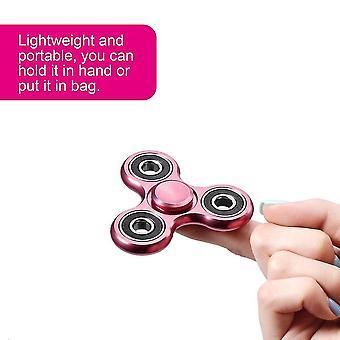 Klassische Metall Tri-Spinner Hand Finger Spinner Spielzeug Fingerspitze Stress abbauen