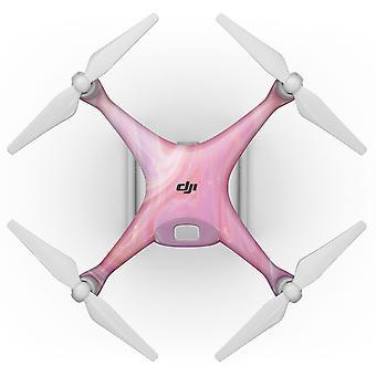 Marbleized Pink Paradise V2 - Kit de pele de corpo inteiro para o Dji Phantom 4