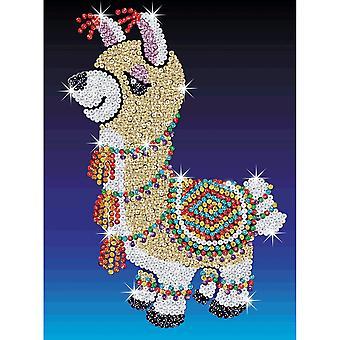 Sequin Art Sequin Lou-Lou Llama Junior
