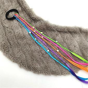 Jednoduchý dětský elastický vlasový pásek