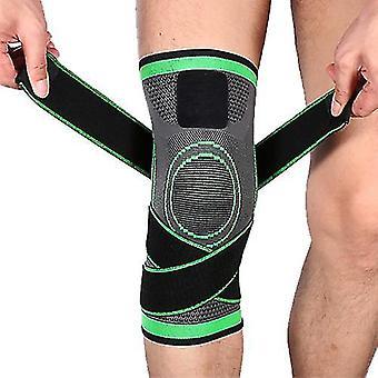 Vert m 1 paire de genouillères sportives genouillère compression manche de genou unisexe zf1283