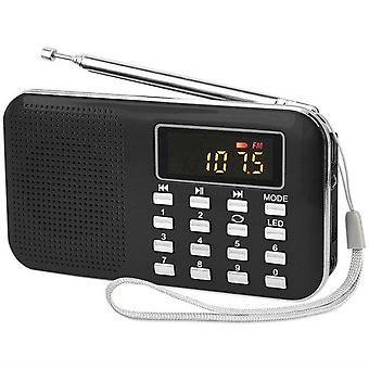 Radio für ältere Menschen Tragbare Outdoor Sport MP3 Karte Radio