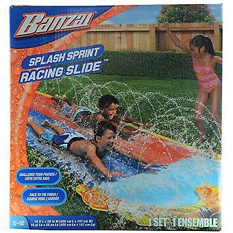 Banzai 16ft Splash Sprint Racing Slide