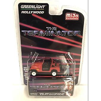 La Jeep Terminator Sarah Connors avec Figure 1:64 Échelle Greenlight 51211