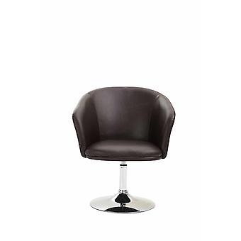 Sessel - Sessel - Modern Brown Metal 68 cm x 63 cm x 80 cm