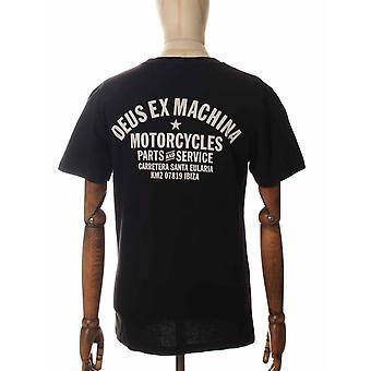 Deus Ex Machina Ibiza Address Tee - Black