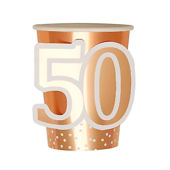 Rose Gold Birthday - Cup - Age 50